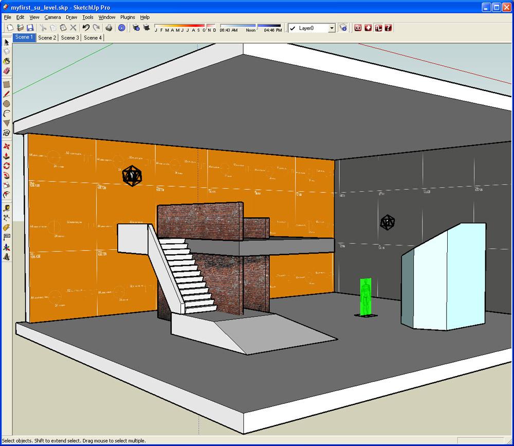 Digital urban sketchup import into left 4 dead engine for Sketchup import